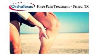 Knee Pain Treatment – Frisco, TX