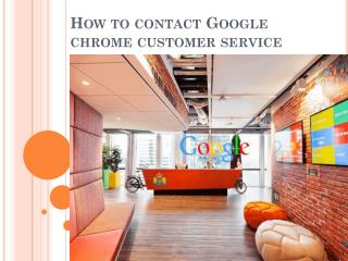 How To Contact Google Chrome Customer Service Number
