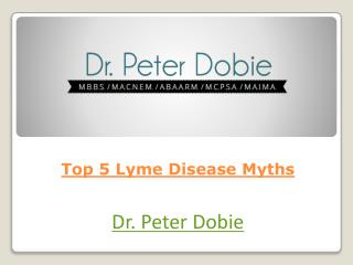 Top 5 Lyme Disease Myths