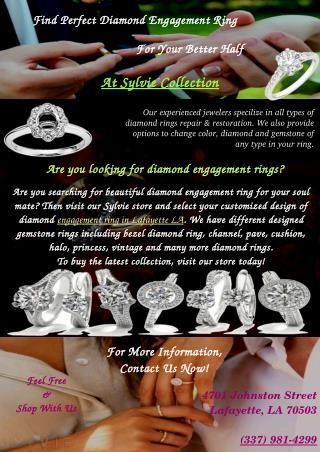 Select Engagement Rings Lafayette LA