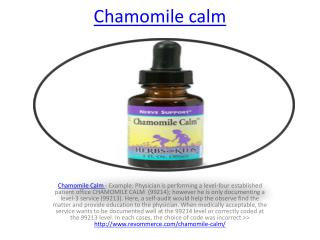 http://www.revommerce.com/chamomile-calm/