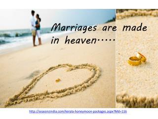 Romantic Honeymoon Packages in Kerala