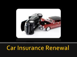 Save money while renewing motor insurance policy…