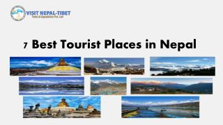 7 Best Tourist Places in Nepal