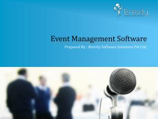 Most Popular Event Management Software Development Company