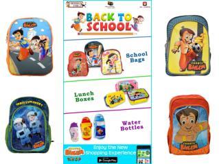 Chhota Bheem Bag at GreenGoldStore.Com