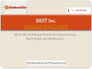 PCB Circuit Board Repair Materials & Tools @ Soldertools.net