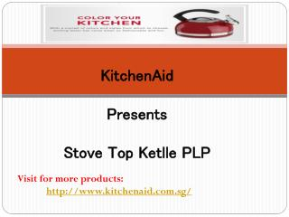 KitchenAid - 1.9 L Kettle with C Handle and Trim Band