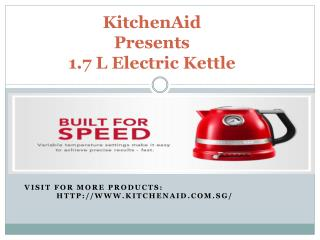 KitchenAid's 1.7 L Electric Kettle