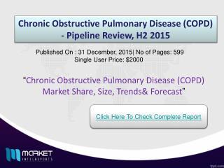 Strategic Analysis on Chronic Obstructive Pulmonary Disease (COPD) Market