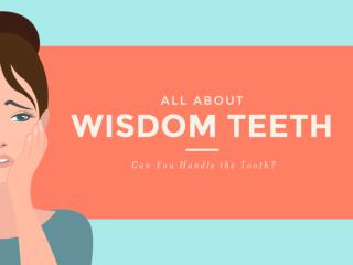 All About Wisdom Teeth - Can You Handle It