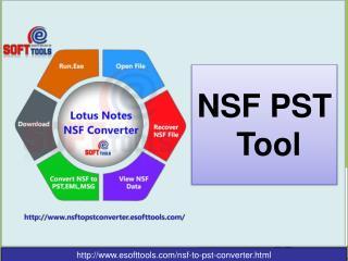 NSF to PST Tool