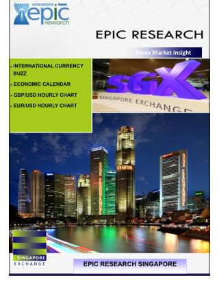 Epic Research Singapore : - Daily IForex Report of 19 May 2016