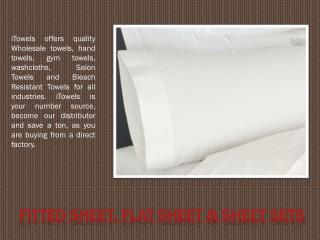 Fitted Sheet, Flat Sheet & Sheet Sets