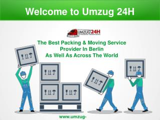 The Best Packing & Moving Service Provider In Berlin