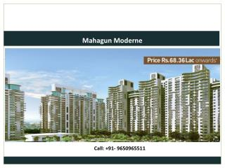 Mahagun Moderne, Residential Property in Sector 78, Noida