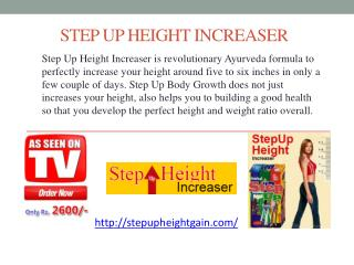 Step Up Height Increaser