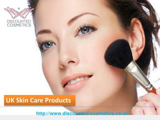 Online Store Discount Cosmetics for Skin Care Products in UK