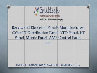 Power Control Panel Manufacturers Delhi, Exporters India