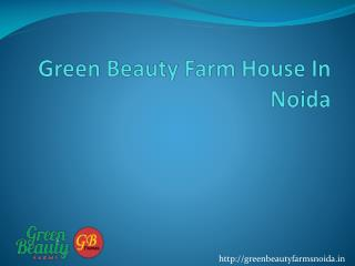Green Beauty Farms House in sector 135 Noida