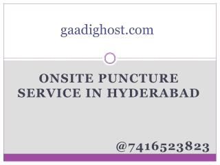 mobile tyre puncture repair hyderabad