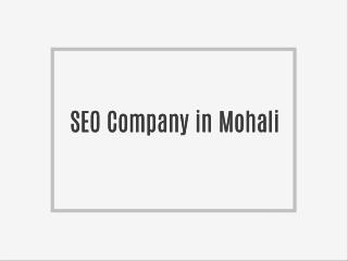 Website Designing Company in Mohali