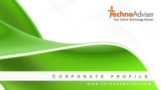 Know More about TechnoAdviser Technologies Private Limited