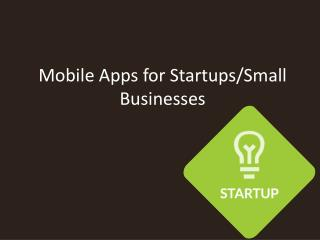 Apps for startups