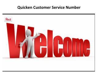 Quicken Customer service Number