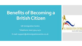 Benefits of Becoming a British Citizen