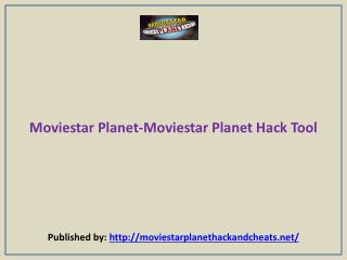 Moviestar Planet-Moviestar Planet Hack Tool