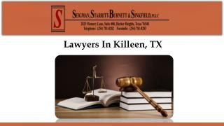 Lawyers In Killeen, TX