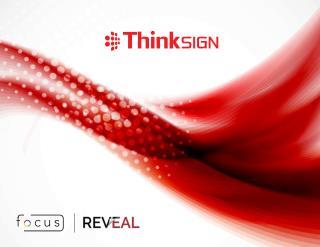 Thinksign Interior Brochure