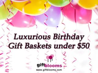 Wonderful Collection of Birthday Gift Basket Under $50