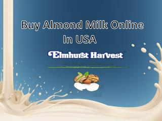 Buy Almond Milk Online in USA