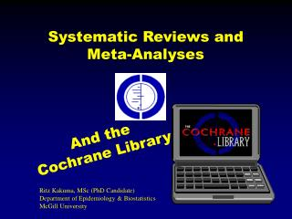 Systematic Reviews and