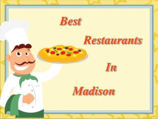 Best Restaurants In Madison