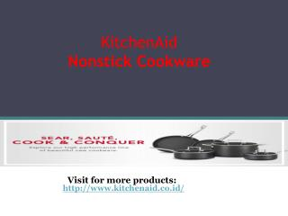 KitchenAid's Nonstick Cookware