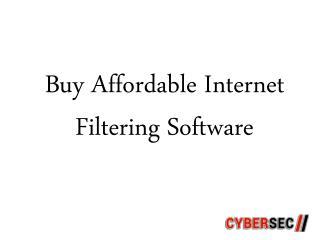 Buy Affordable Internet Filtering Software