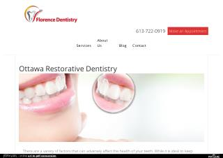 Ottawa Restorative Dentistry Services