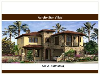 Aarcity Star Villas Reviews Floor Plans Greater Noida West
