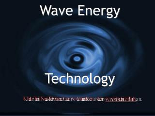 Wave Energy    Technology