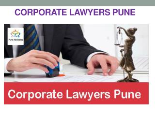 Corporate Lawyers Pune