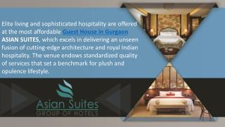 Comfort-stay-in-asian-suites-gurgaon