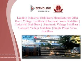 Servo Voltage Stabilizer in Noida
