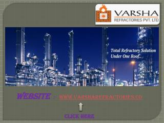 Varsharefractories Product, Insulation Castables, Fire Bricks India