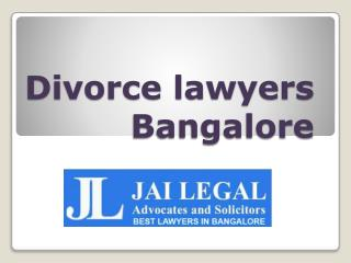 Divorce Lawyers Bangalore