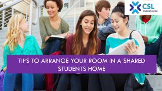 Tips to Arrange your Room in a Shared Students Home