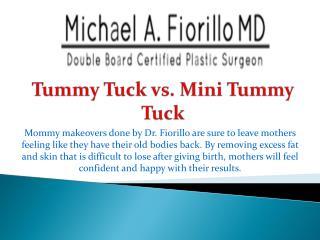 Tummy Tuck vs. Mini Tummy Tuck
