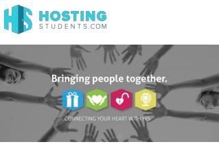 Log on to hostingstudents.com